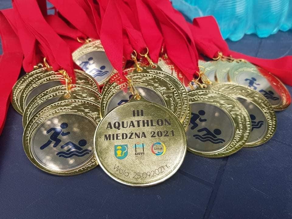 III Aquathlon - medale
