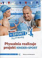 plakat projektu Kinder+Sport