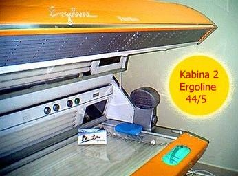 solarium - kabina 2