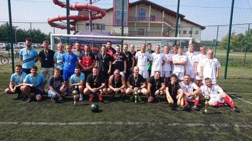 drużyny turnieju piłki nożnej