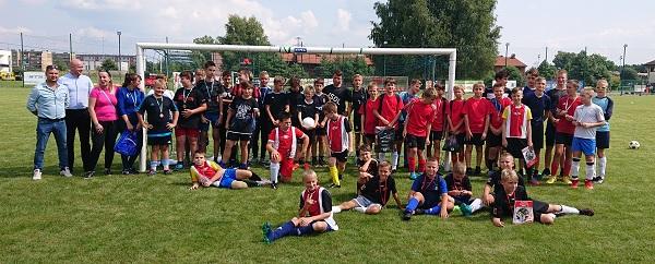 Wakacyjny Turniej Piłki Nożnej 2021-08-21 uczestnicy